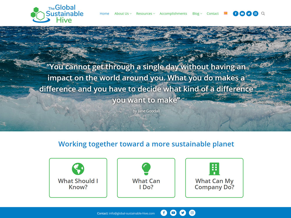 The Global Sustainable Hive